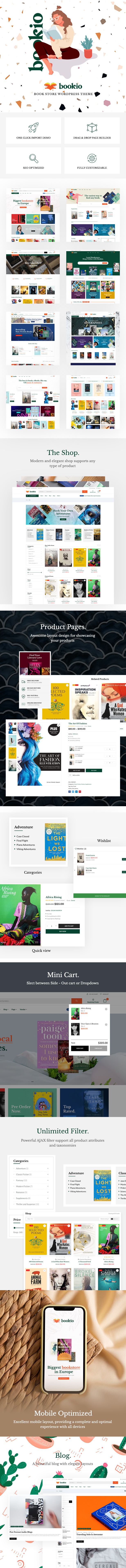Bookio – Book Store WooCommerce WordPress Theme - 2