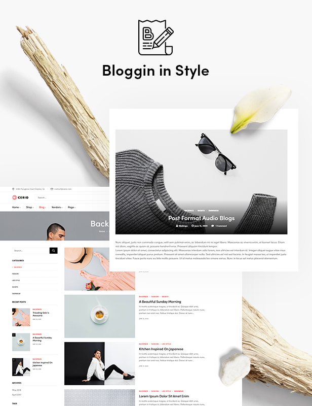 Cerio – Fashion WooCommerce WordPress Theme
