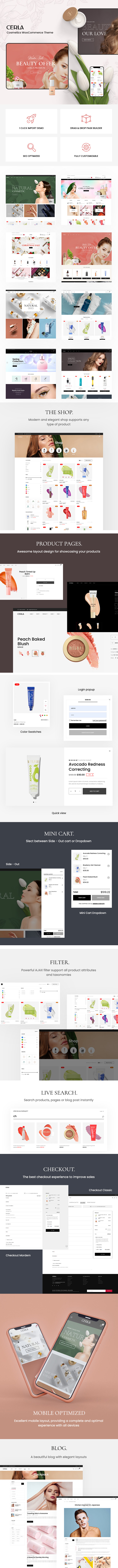Cerla – Cosmetics WooCommerce WordPress Theme - 2