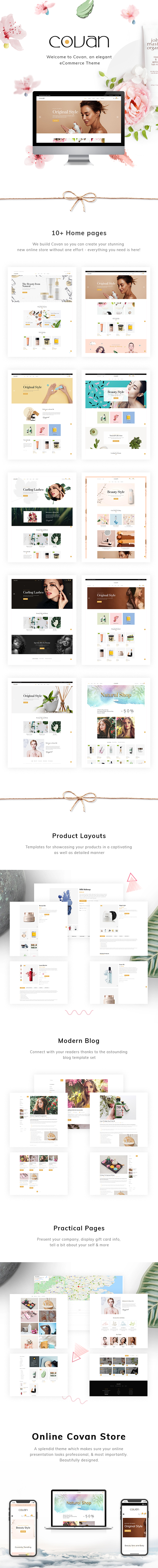 Covan – Cosmetics WooCommerce WordPress Theme - 1