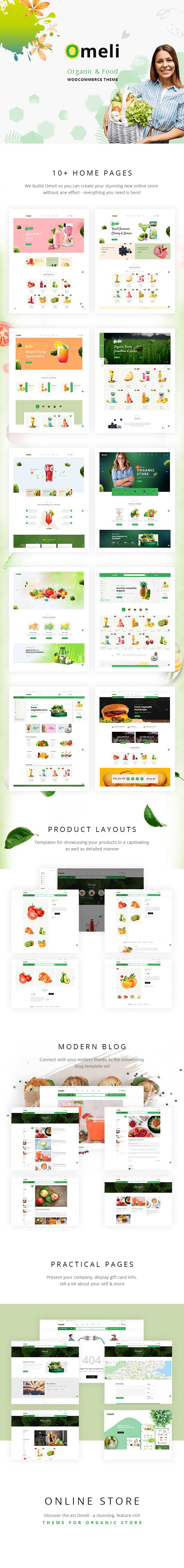 Omeli - Organic WooCommerce WordPress Theme - 1