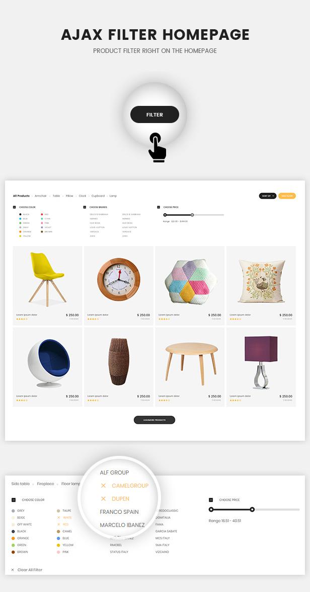 Oritina - Minimal WooCommerce Theme For Furniture, Decor, Interior | Prosyscom Tech 3