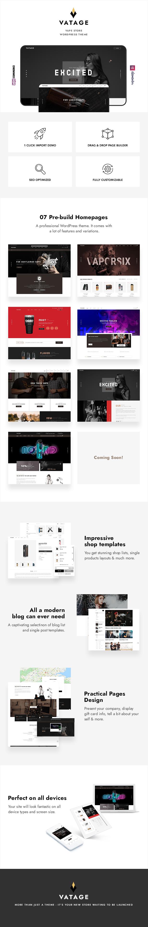 Vatage – Vape WooCommerce WordPress Theme - 2